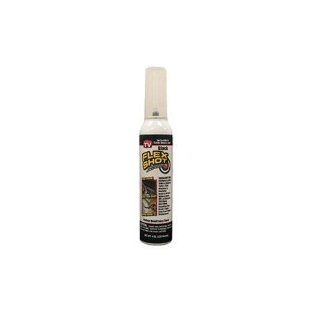 Flex Shot Thick Rubber Caulking Adhesive Waterproof Sealant  Caulks Bonds And Seals  White 8 Oz