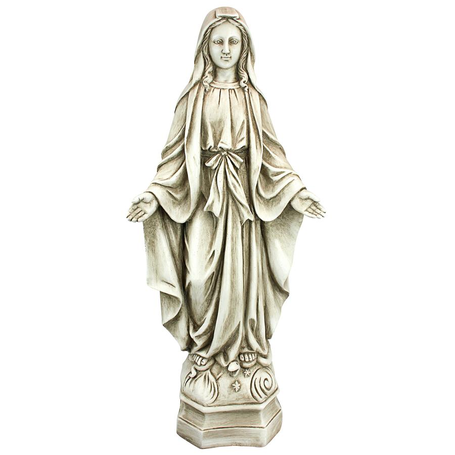 Madonna Of Notre Dame Garden Statue: Large