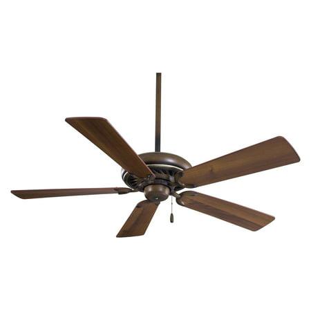 - Minka Aire F568-BCW Supra 52 in. Indoor Ceiling Fan - Belcaro Walnut - ENERGY STAR