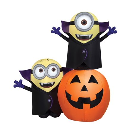 Halloween Parties Gone Wrong (Gemmy 59406 Halloween Inflatable Minion Gone Airblown, 11.81