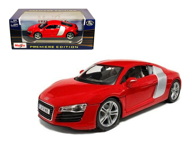 Audi R8 Red 1 18 Diecast Model Car by Maisto by Diecast Dropshipper