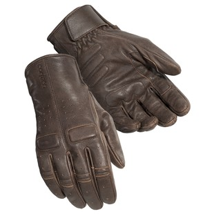 Cortech Heckler Mens Leather Gloves Cafe Brown