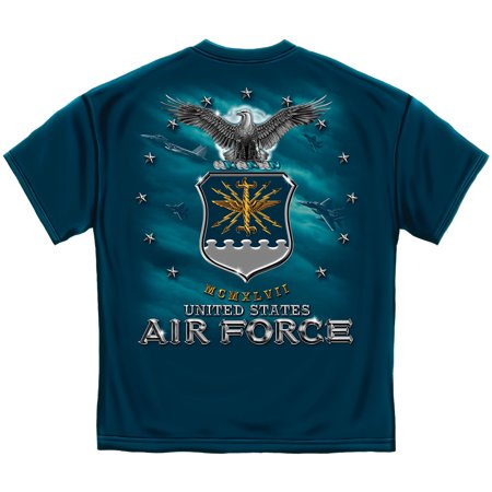 USAF US Air Force Full Print Eagle T-Shirt LARGE