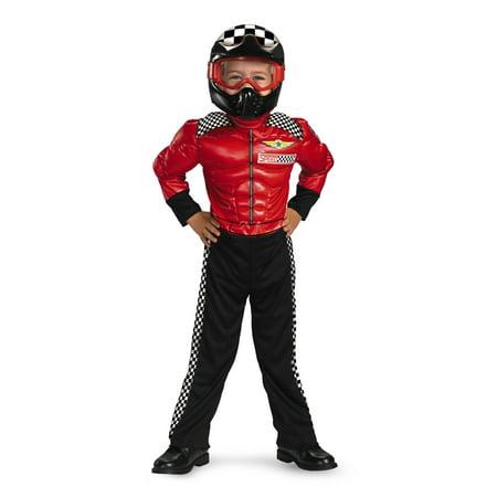 Racer Halloween Costumes (Boy's Turbo Racer Toddler Halloween)
