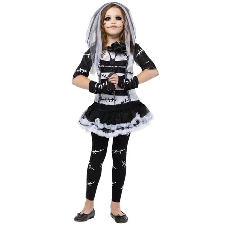Monster Bride Girls Cute Horror Halloween Costume