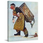 Marmont Hill Mermaid by Norman Rockwell Painting Print on Canvas