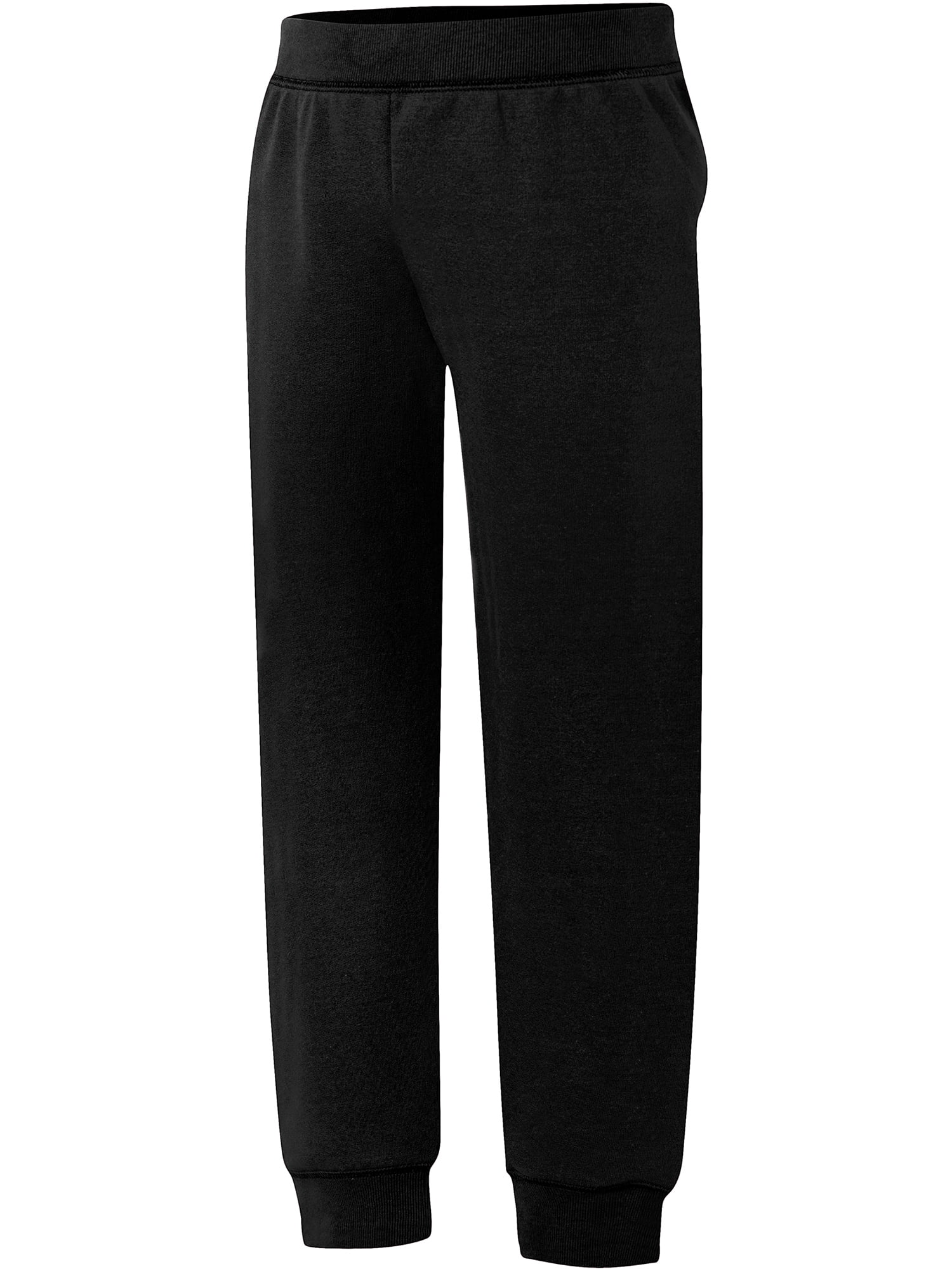 Real Love Girls Fleece Jogger Sweatpants with Pockets 4 Pack