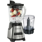 Hamilton Beach 2-Speed Blender with Food Chopper, Stainless Steel