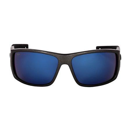 Costa Cape Plastic Frame Blue Mirror Plastic Lens Men's Sunglasses (Costa Find A Store)