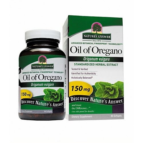 Nature's Answer Oil of Oregano Softgels, 90 Ct