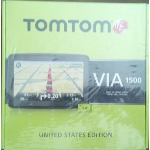 Tomtom VIA 1500 United States Edition 5 Inch Touchscreen GPS