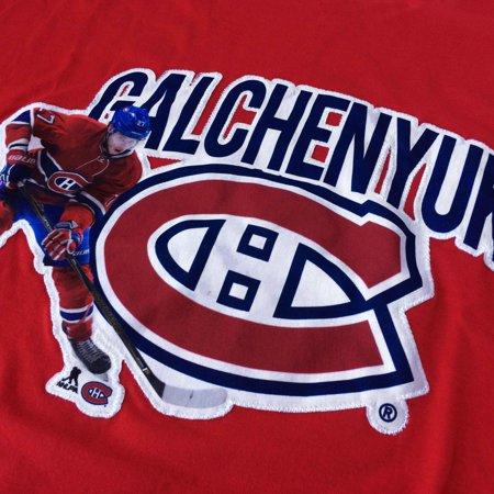 buy popular 21e03 74213 Montreal Canadiens Alex Galchenyuk NHL Action Pop Applique T-Shirt -  Levelwear