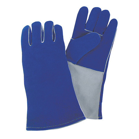 "CONDOR Welding Gloves,Stick,13-3/4"",L,PR 4TJX5"