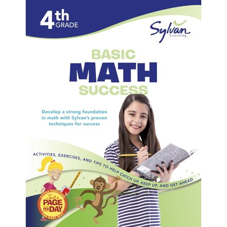 4th Grade Basic Math Success Workbook : Activities, Exercises, and Tips to Help Catch Up, Keep Up, and Get Ahead - Halloween Color By Number 4th Grade