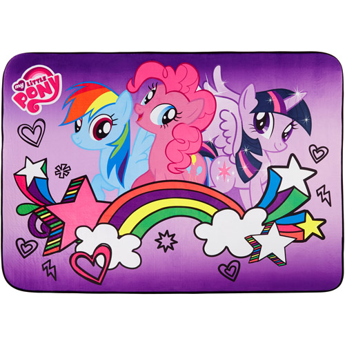 "My Little Pony Heat Transfer Accent Rug, 3'4"" x 4'8"""