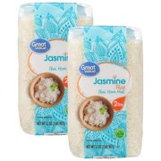 (2 Pack) Great Value Jasmine Rice, 32 oz