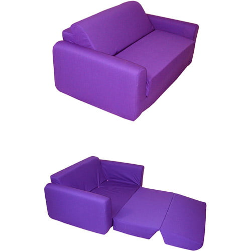 Kids Sofa Sleeper Purple Walmartcom