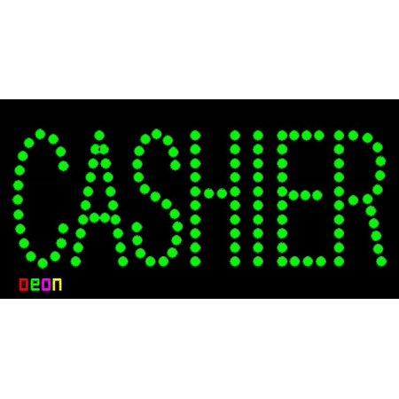 Cashier Neon Sign (19