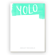 Personalized Back To School 5 x 7 Notepad - Unique Style