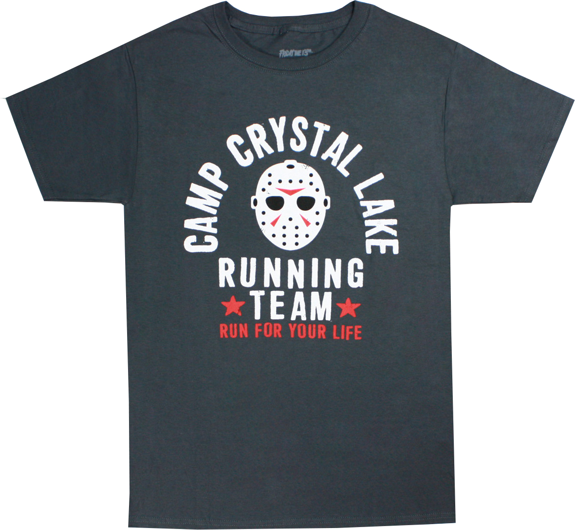 Camp Crystal Lake Men/'s T-Shirt S-XXL Size Officially Licensed Friday The 13th