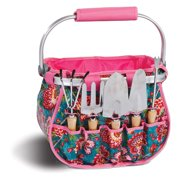 Picnic Plus Blossom 6 Piece Garden Tote - Madeline Turquoise
