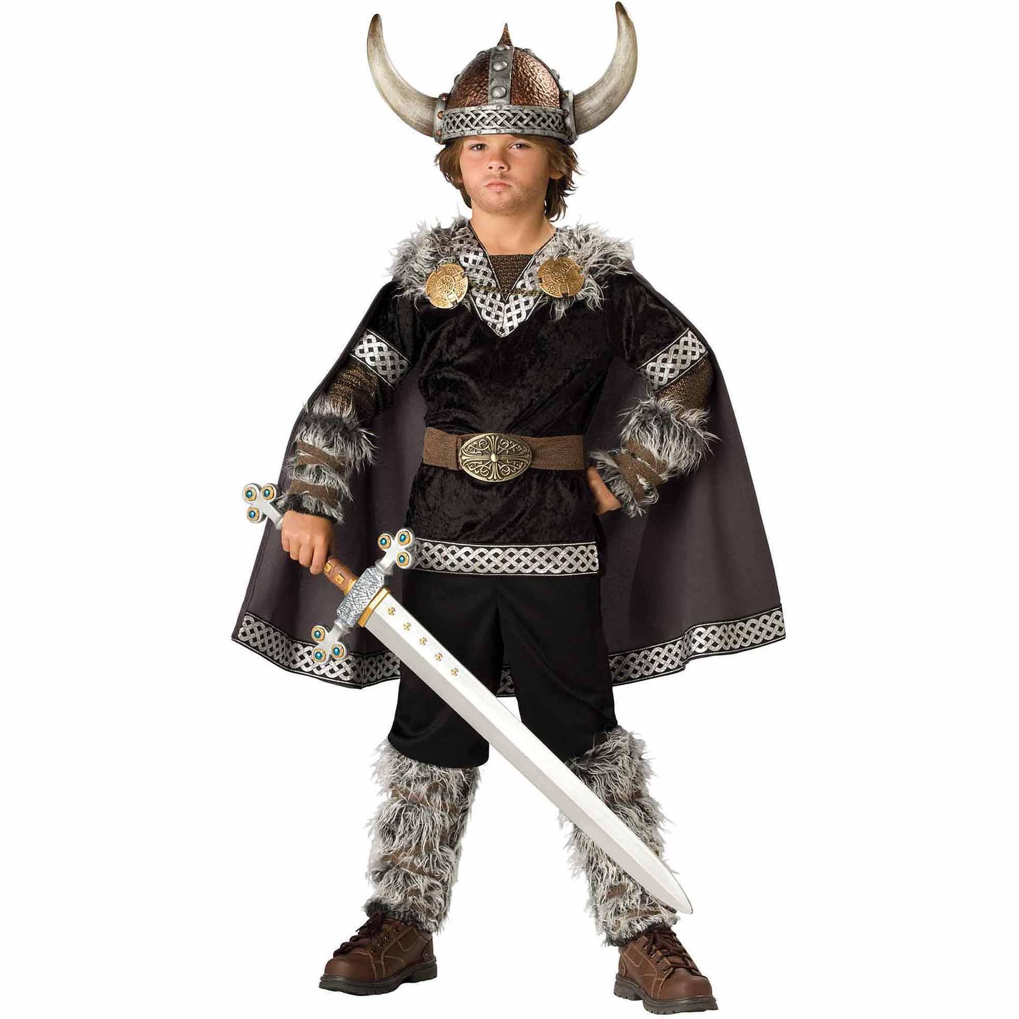 Generic Super Deluxe Viking Warrior Boys Costume