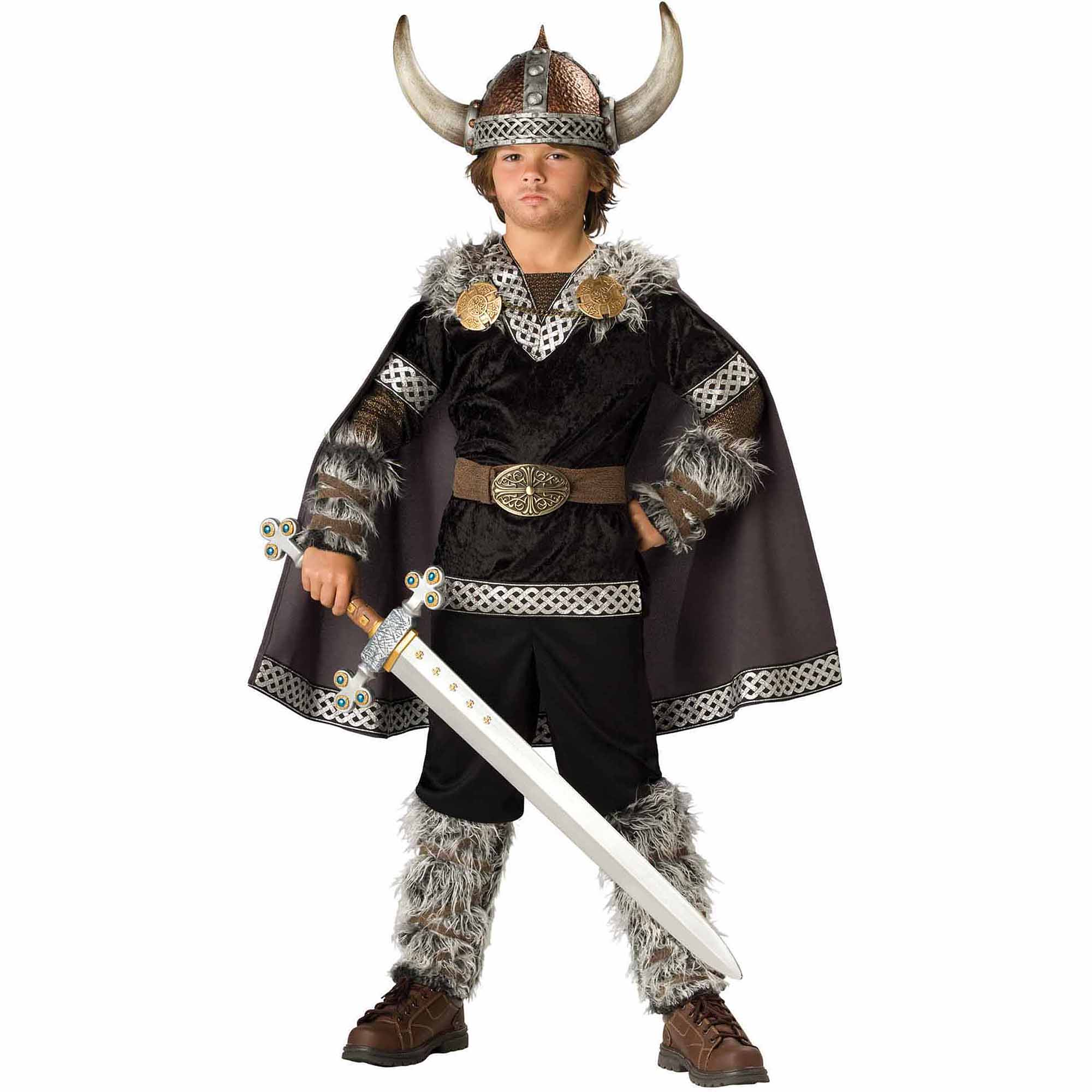 Super Deluxe Viking Warrior Boys Costume  sc 1 st  Walmart & Super Deluxe Viking Warrior Boys Costume - Walmart.com
