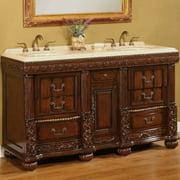 B&I Direct Imports Kent 60'' Double Bathroom Vanity Set