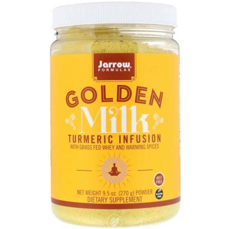 JARROW Golden Milk 9.5 OZ, Pack of 2