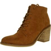 Rocket Dog Women's Dessa Coast Fabric Cinnamon Ankle-High Boot - 8M