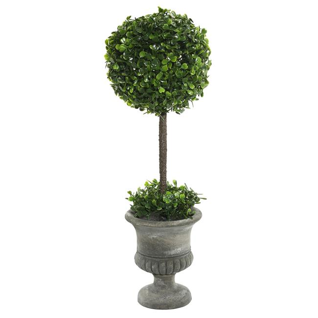 21 in. Boxwood Topiary in Container