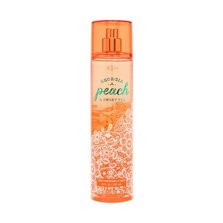 Bath & Body Works Georgia Peach & Sweet Tea 8.0 oz Fine Fragrance (Sweet Peach)