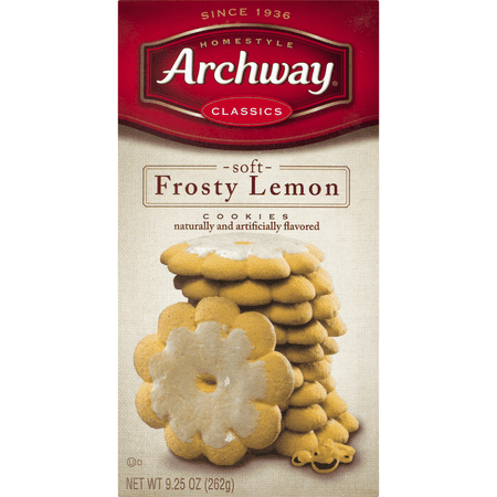 (3 Pack) Archway Frosty Lemon Classic Cookies, 9.25 (Best Classic Christmas Cookies)