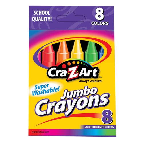 Cra-Z-art Jumbo Crayons, 8ct