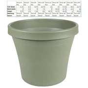 "Bloem Terra Pot Planter 12"" Living Green"