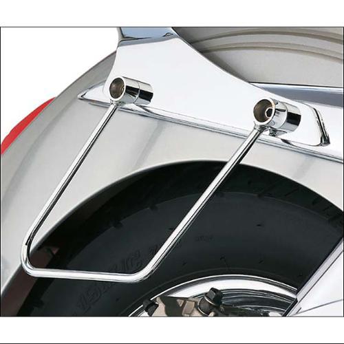 Cobra Saddlebag Support Bars Chrome Fits 04-08 Honda VTX1800N