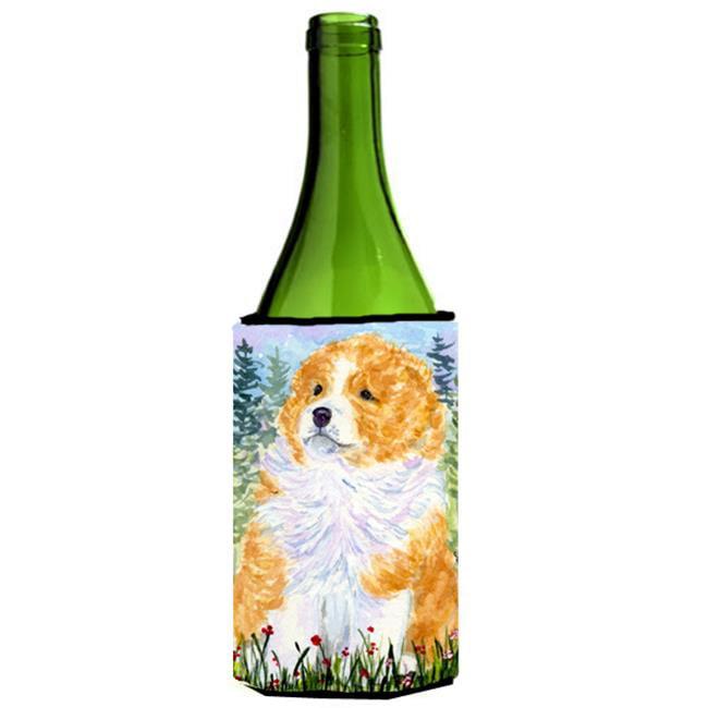 Carolines Treasures SS8918LITERK Sheltie Wine Bottle  Hugger - 24 oz. - image 1 de 1