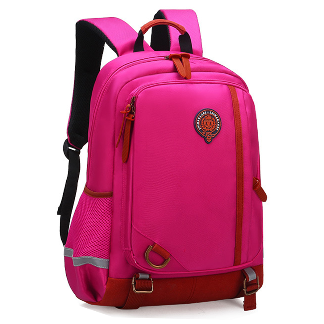 School Backpack, Coofit Adjustable Straps Nylon Daypack Bookbag Travel Backpack for Primary Students Girls Boys Kids