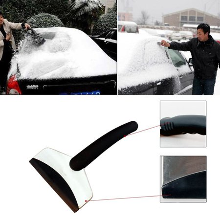 Snow Ice Scraper Stainless Removal Clean Tool Auto Car Vehicle Fashion And Useful Ice Remove Tool - image 4 of 7