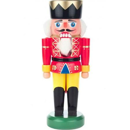 Image of Alexander Taron 012-015-1 Dregeno Nutcracker - Red King with Golden Details