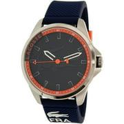 Lacoste Men's Capbreton 2010842 Blue Silicone Quartz Watch