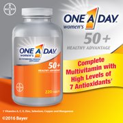 One A Day Women's 50+ Multivitamin 220 Tablets