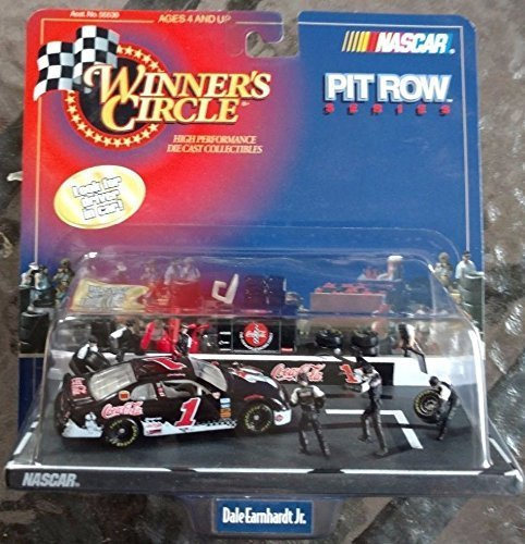 Dale Earnhardt Jr 1 Coca Cola Polar Bears 1998 Monte Carlo 164 Scale Diecast Pitroad Pit Row Scene Series 1st Head to Head Race With Dale Sr Motegi Japan Winners Circle - image 1 de 1