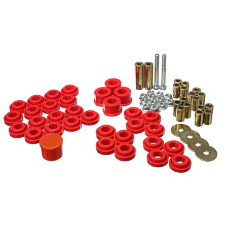 Energy Suspension Chrysler/Dodge Red Rear End Control Arm Bushing (Energy Suspension Tahoe Bushings)