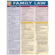 BarCharts 9781423217640 Family Law Quickstudy Easel