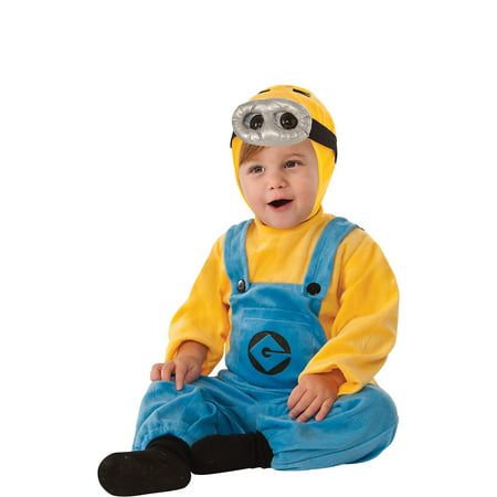Minion Costume Accessories (Despicable Me 2 Dave Minion Costume for Infants, 12-24 Months, with)