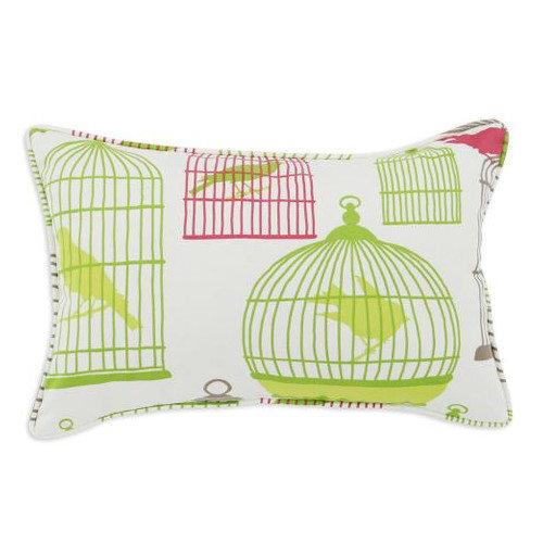 Chooty & Co Flight of Fancy Cotton Key Corded Pillow