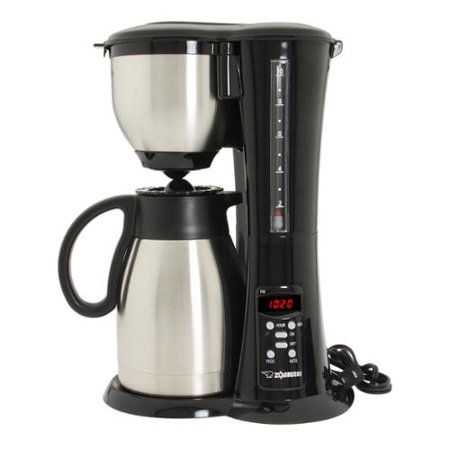 Zojirushi Fresh Brew Stainless Steel 10-cup Thermal Carafe Coffee Maker - Walmart.com