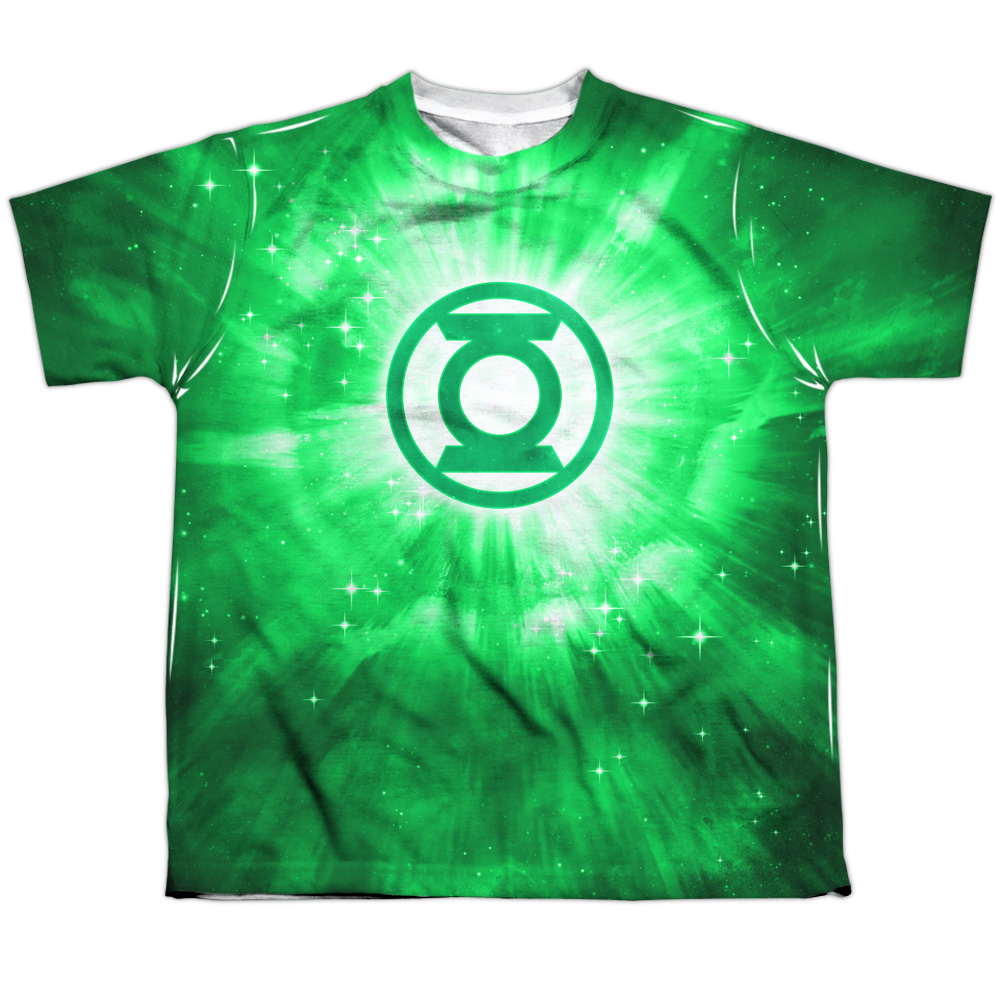 Green Lantern Green Energy Big Boys Sublimation Shirt
