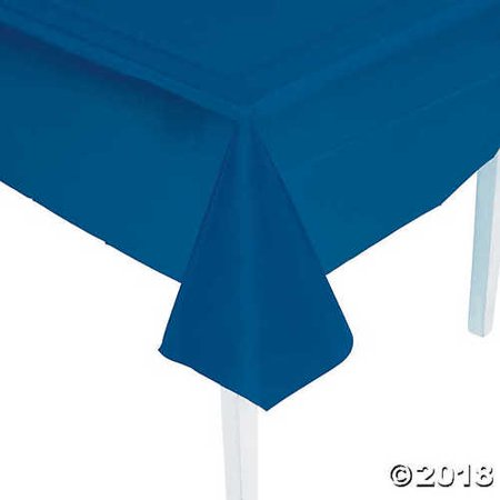 Navy Blue Plastic Tablecloth](Navy Blue Plastic Tablecloth)